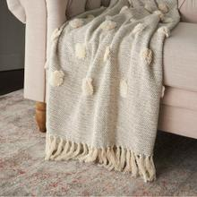 "Throw Sh019 Grey 50"" X 60"" Throw Blanket"