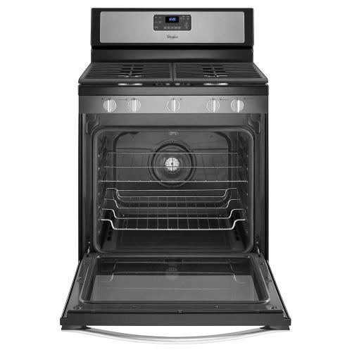 Whirlpool® 5.8 Cu. Ft. Freestanding Gas Range with Center Burner