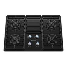 KitchenAid® 30-Inch 4-Burner Gas Cooktop, Architect® Series II - Black