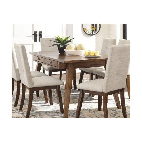 ASHLEY D372-25-02 Centiar 5-Piece Dinette - Rectangular Dining Room Table And 4 Chairs