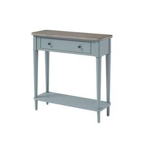 Null Furniture Inc - Small Console Indigo/Grey Birch finish      (6618-23IGB,52966)