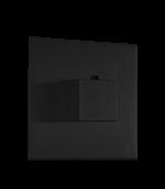 Thermostatic Valve Trim Kit, SQU Matt View Valve Required For This Item Black Product Image