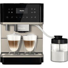 See Details - CM 6360 MilkPerfection - Countertop coffee machine With WiFi Conn@ct, high-quality milk container, and many specialty coffees.