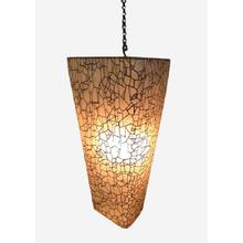 See Details - Artistry Pia Crackled Hanging Lamp