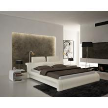 Modrest S611 - Contemporary Eco-Leather Bed