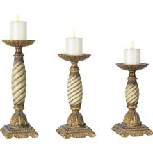 French Spiral Candleholders