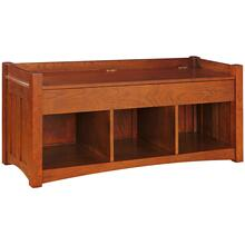 Storage Bench, Cherry Storage Bench