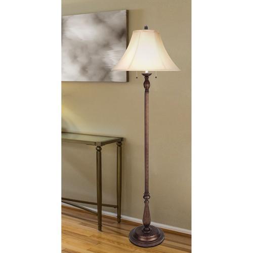 Cal Lighting & Accessories - 60W X 2 Floor Lamp