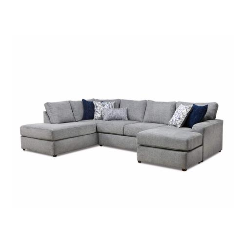 8011 Flamenco Two Piece Sectional with Chaise