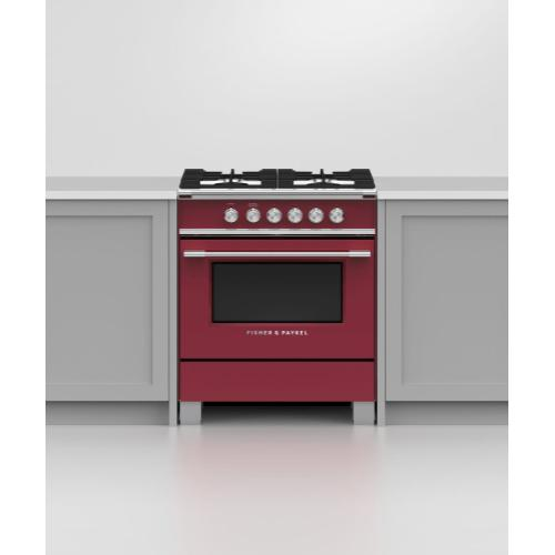 "Gas Range, 30"", 4 Burners"