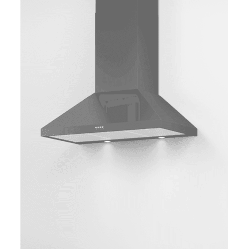 "Wall Range Hood, 36"", Pyramid Chimney"