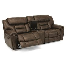 View Product - Buster Power Reclining Loveseat with Console and Power Headrests