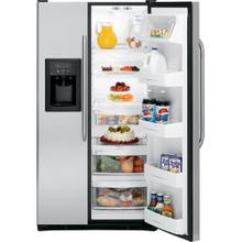 GE® ENERGY STAR® 25.4 Cu. Ft. Stainless Side-By-Side Refrigerator with Dispenser
