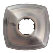 Moen Brushed nickel shower arm flange