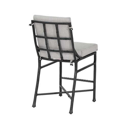Castelle - Marquis Cushioned Armless Counter Stool