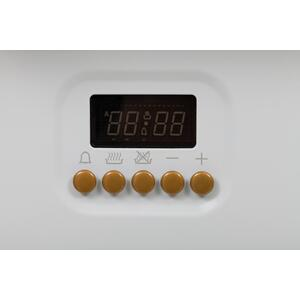 24 Inch White Dual Fuel Natural Gas Freestanding Range