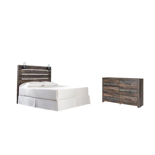 Ashley - King Panel Headboard With Dresser