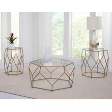Roxy 3-Piece Occasional (Cocktail & 2 End Tables)