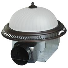 See Details - Quiet Round Exhaust Fan with Light