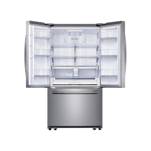 25.1 cu. ft. 3-Door French Door Refrigerator with Family Hub™ in Stainless Steel