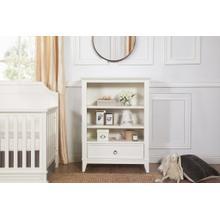 See Details - Warm White Emma Regency Assembled Bookcase