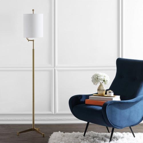 Ezekiel Floor Lamp - Brass Gold