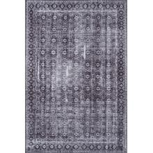 "Afs-28 Charcoal 2'3"" x 7'6"" Runner"