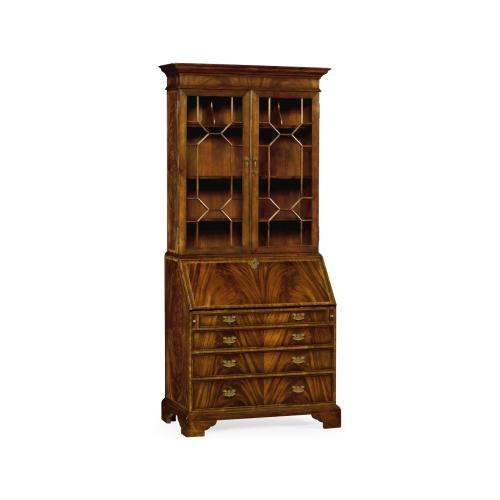 Georgian Style Mahogany Cabinet with Glazed Bars