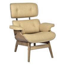 See Details - Thatcher Chair (mushroom Pu)