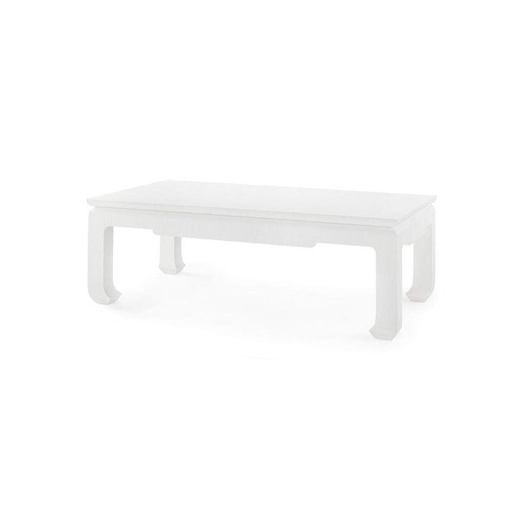 See Details - Bethany Large Rectangular Coffee Table, White