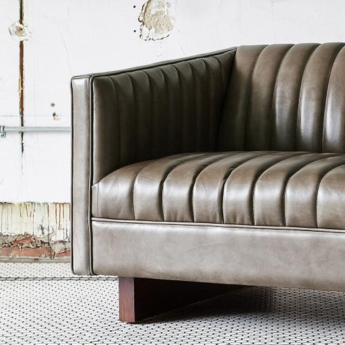 Product Image - Wallace Sofa Saddle Brown Leather