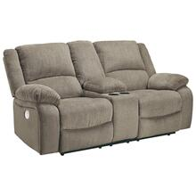 See Details - Draycoll Power Reclining Loveseat With Console