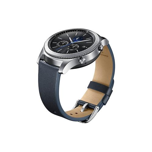 Gear S3 Classic Leather Band - Navy