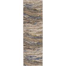 "Enigma Continuum Smokey Grey 2' 4""x7' 10"" Runner"