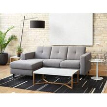 Solo 2-Piece Sectional Sofa With Chaise