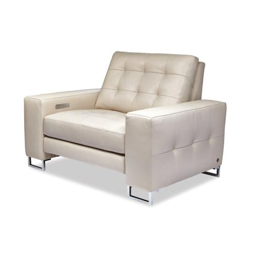 Hudson Tufted Reclining Sofa - American Leather