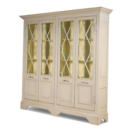 Four Door Kentucky Bourbon Bookcase