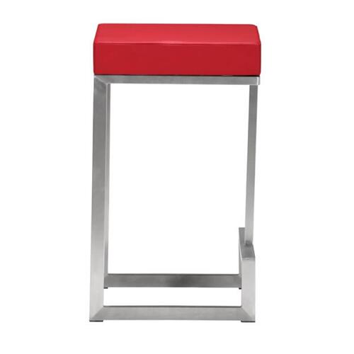 Zuo Modern - Darwen Counter Stool Red