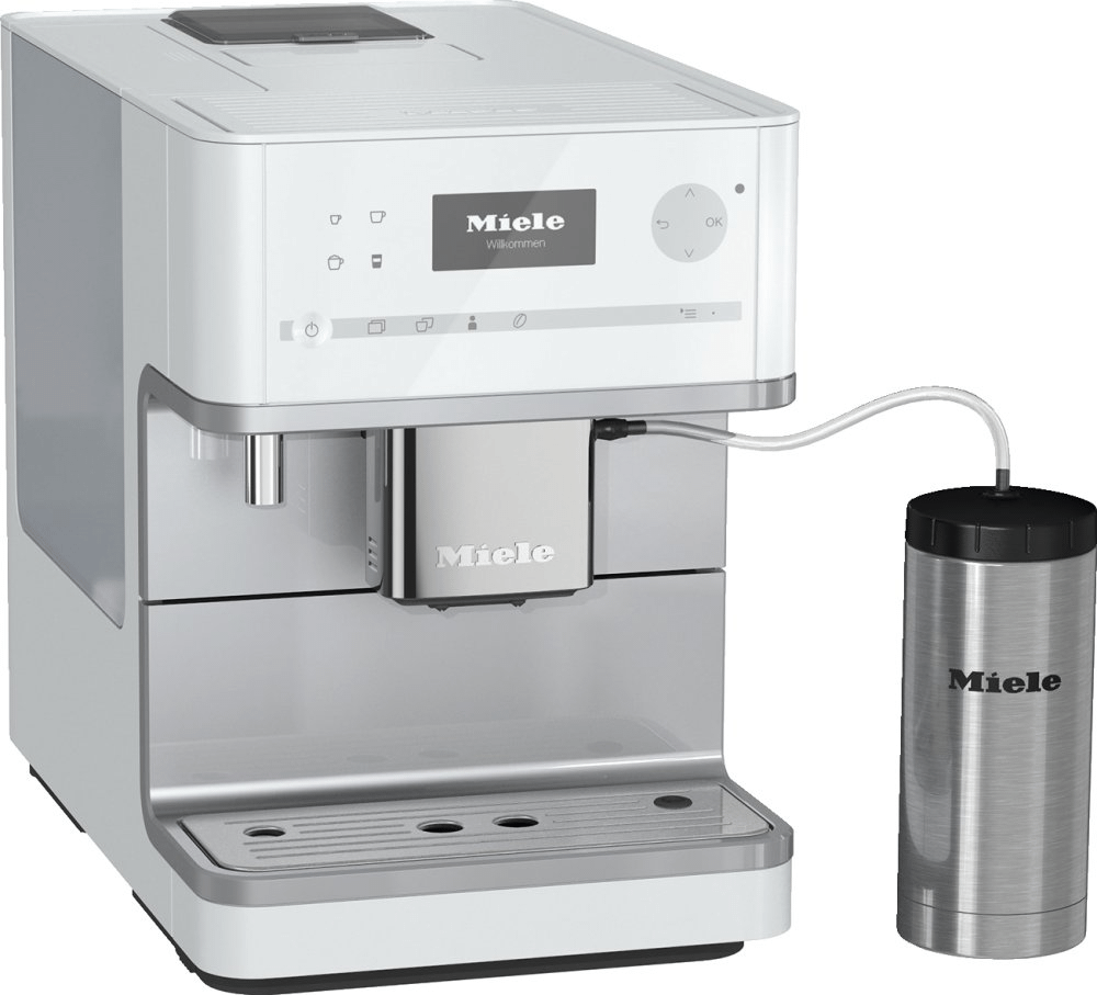 MieleCm 6350 - Countertop Coffee Machine With Onetouch For Two Feature And Integrated Cup Warmer For Perfect Coffee.