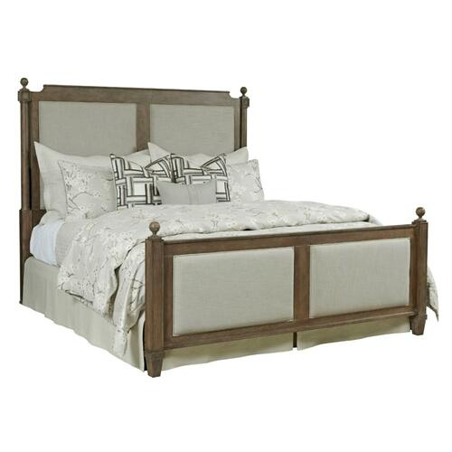 Sunderland Queen Upholstered Bed - Complete