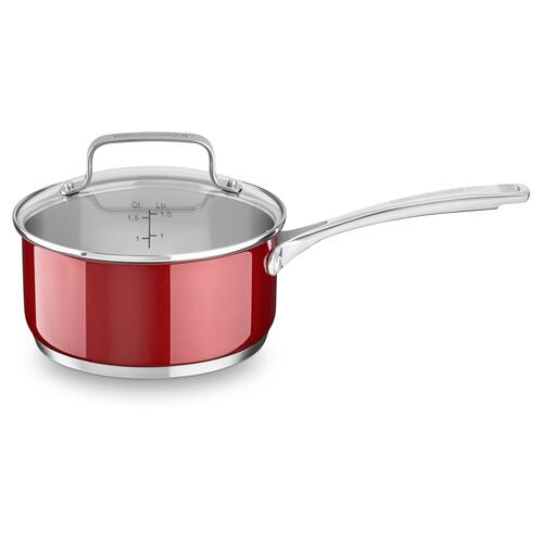 1.9 L Stainless Steel Sauce Pan With Lid - Other