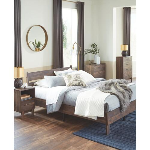 Calverson Queen Panel Platform Bed
