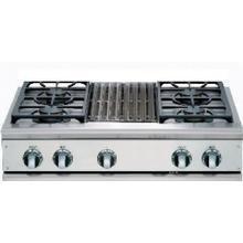 "36"" Cooktop, 4 Burner w/Grill"