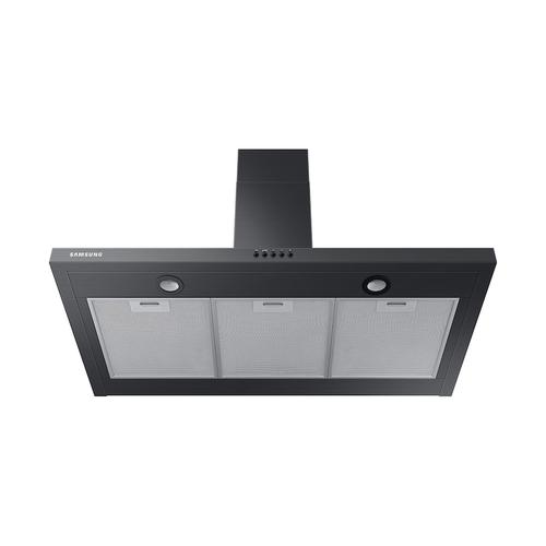 """Product Image - 36"""" Wall Mount Hood in Black Stainless Steel"""