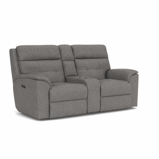 See Details - Mason Power Reclining Loveseat with Console and Power Headrests