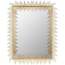 Sunray Mirror - Antique Gold