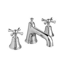 Randall Widespread Bathroom Faucet with Cross Handles - Polished Chrome