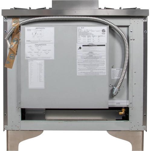 48 Inch Stainless Steel Dual Fuel Liquid Propane Freestanding Range