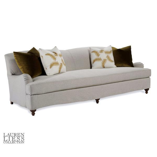 Libris Mini Slipcovered Sofa