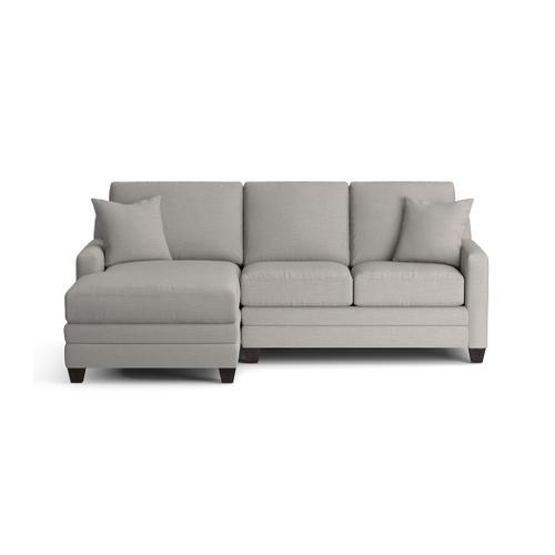 Bassett Furniture - Carolina Thin Track Arm Left Chaise Sect